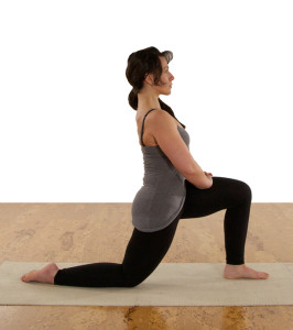 lunge on the knees pose to relieve hip tension - when sex hurts there is hope